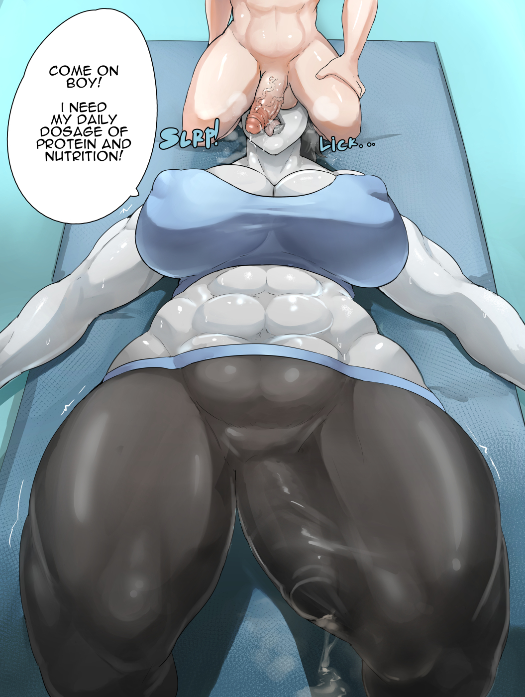 futa porn fit wii trainer My little pony carrot cake