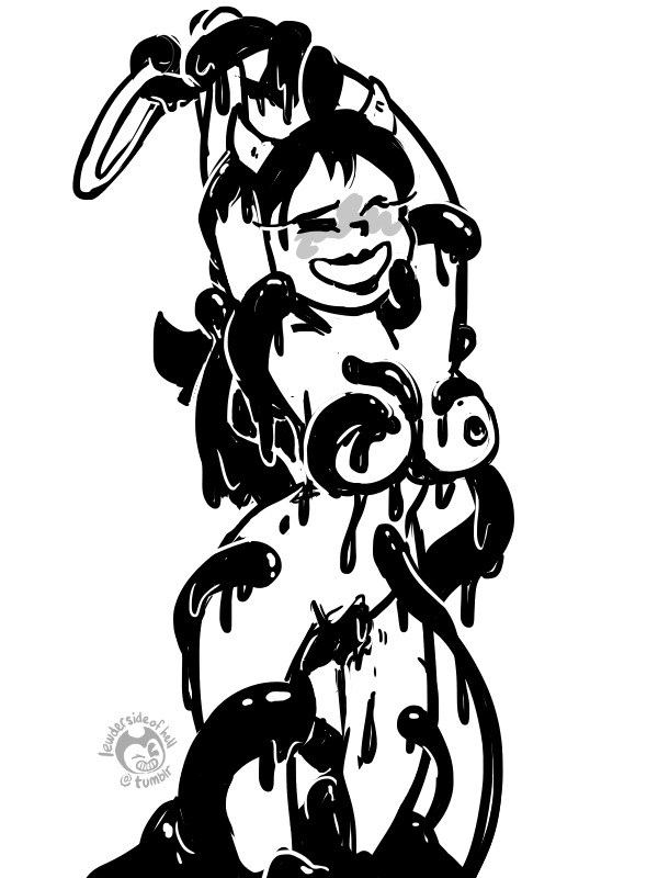 bendy and ink machine the female Living with hipstergirl and gamergirl sophie