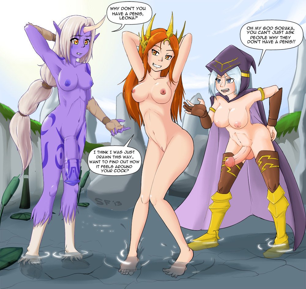 annie league of legends nude Project x love potion disaster