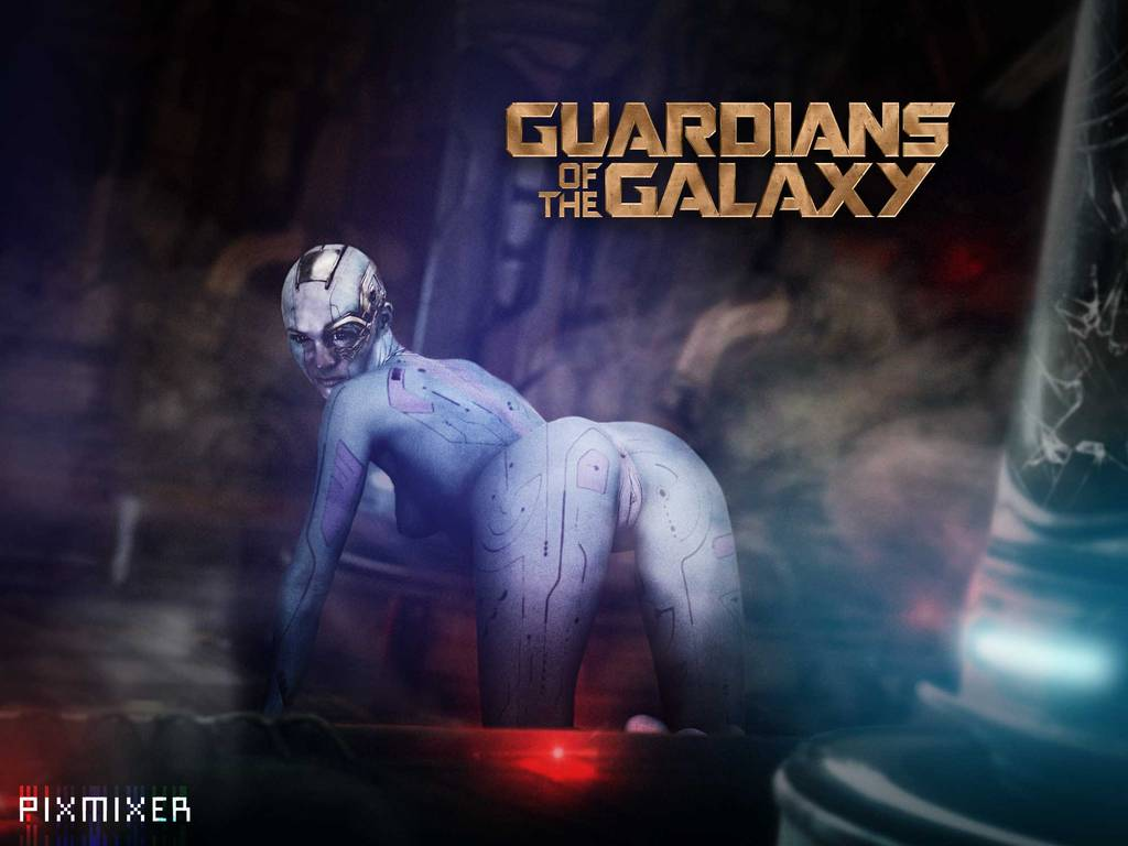 the of galaxy guardians nebula hentai Danse jem and the holograms
