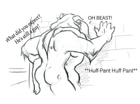 the beauty nude belle and beast (https://www.patreon.com/manyakis