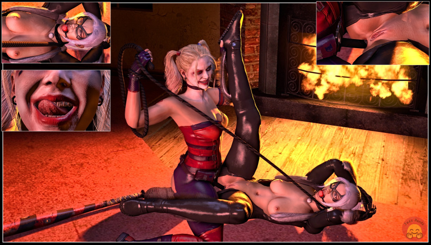 quinn robin and porn harley Spookys house of jumpscares cat